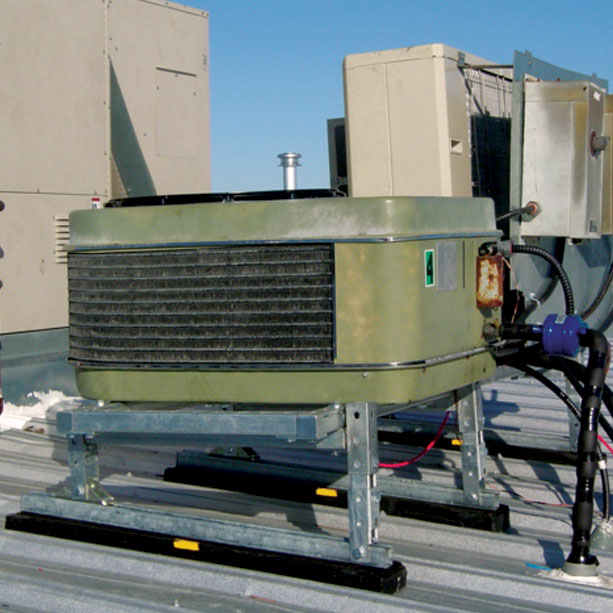 cp-series rooftop supports application