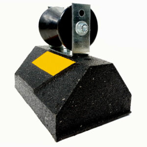 CR10 rubber base with roller