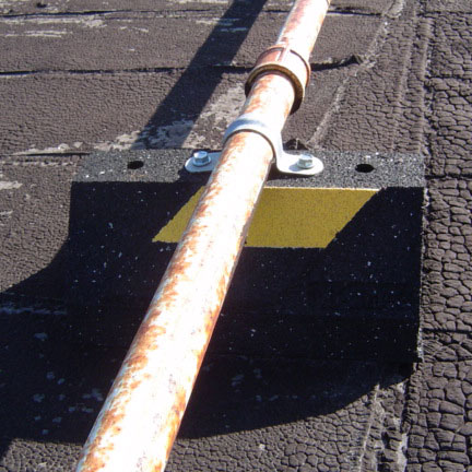 cxp rubber pipe supports base application